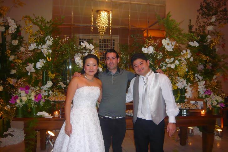 Produção Eventos Arte Floral , Casamento de Fabio e Claudia .
