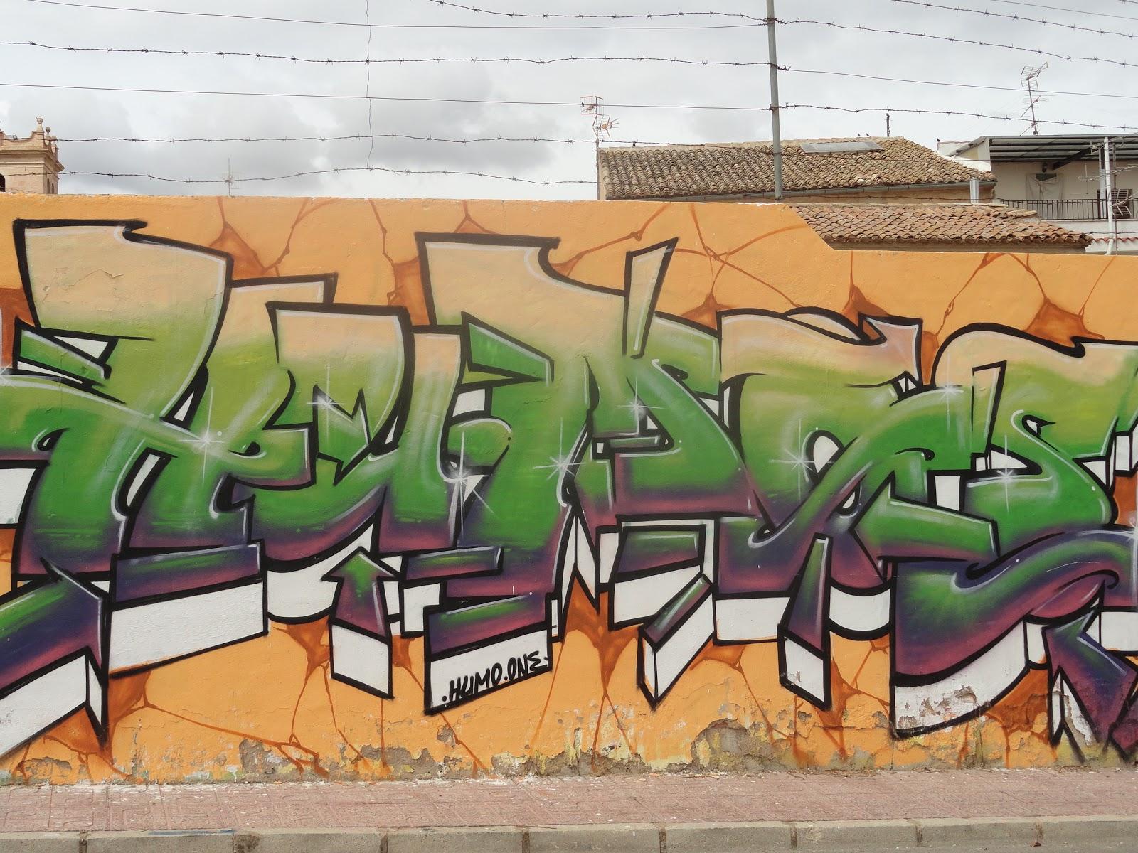 Graffitis arte callejero para unos gamberradas para otros en caudete esta manifestaci n tuvo su apogeo hace unos 10 a os