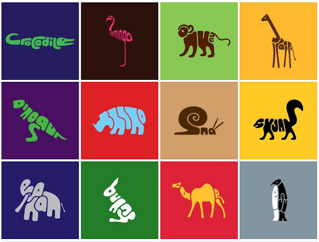 Animals Made from Animal Names (Very Creative)