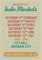 KUBERSTORE will be at the next BrisStyle Indie Market in City Hall, Brisbane, on Saturday 8th March