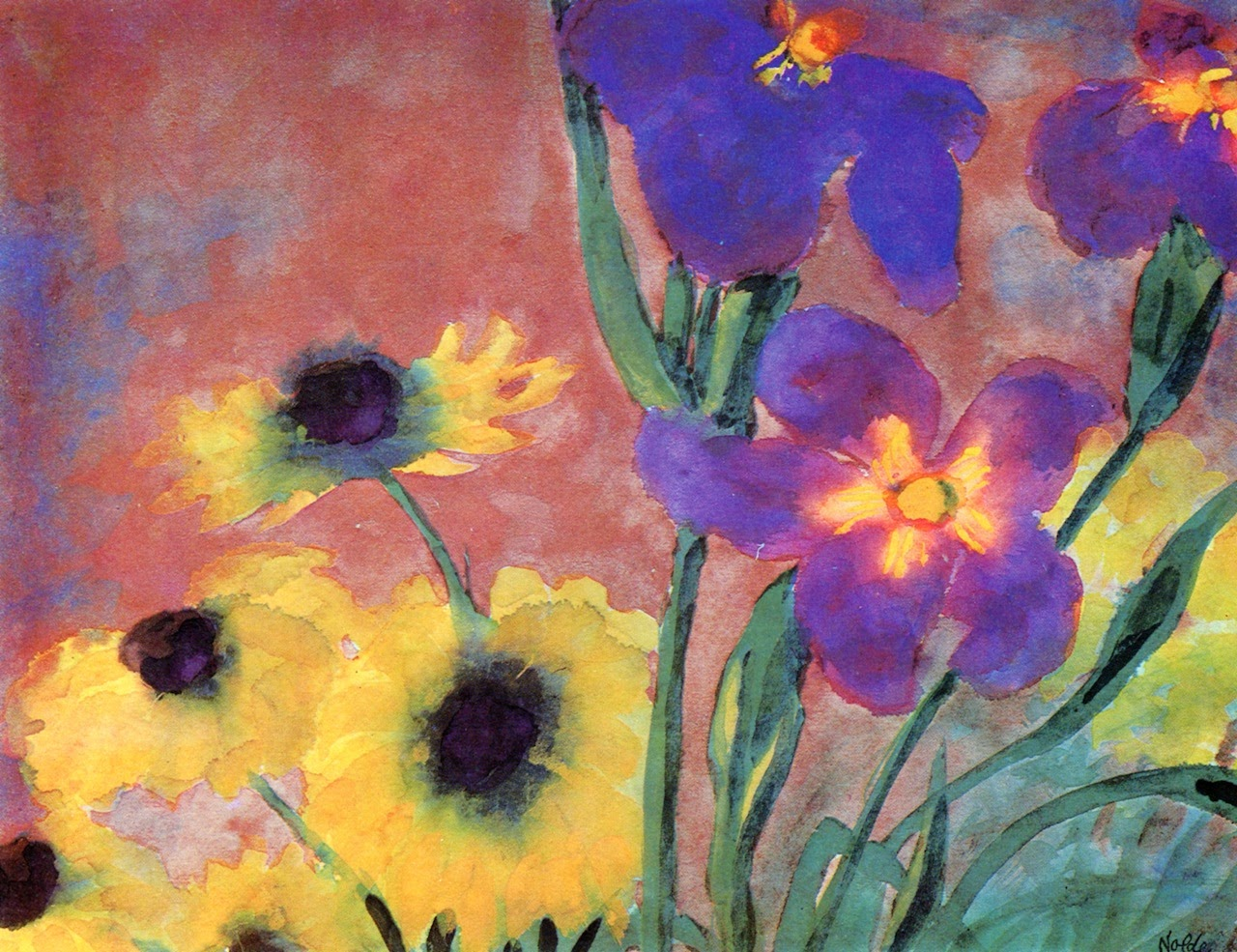 emil nolde Emil nolde facts: emil nolde (1867-1956) was one of the major german expressionist painters his religious scenes, landscapes, and still lifes are distinguished by an intense coloristic richness and primitivistic angularity.