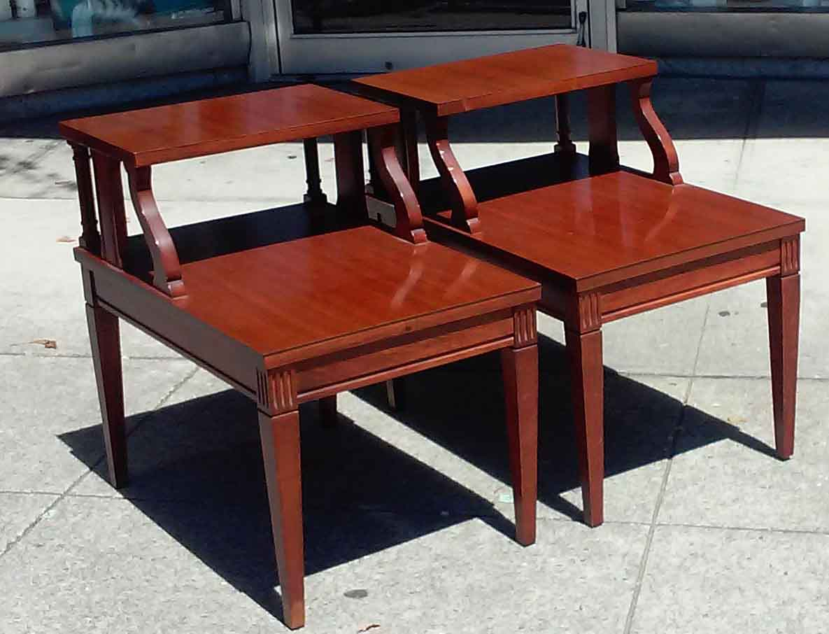 UHURU FURNITURE COLLECTIBLES SOLD Mersman End Tables 50
