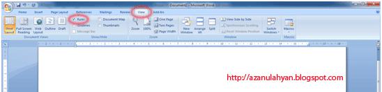 Belajar Membuat Daftar Isi Dengan Ms. Word