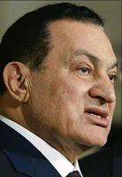 o ditador egípcio Hosni Mubarak, que deve renunciar ainda hoje