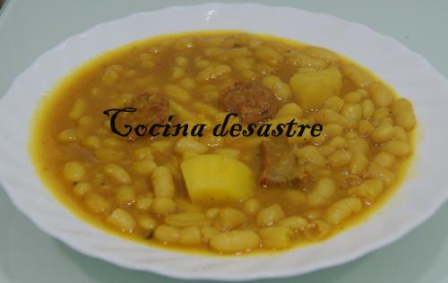 Cocina desastre manue potaje de habichuelas olla express - Judias verdes en olla express ...