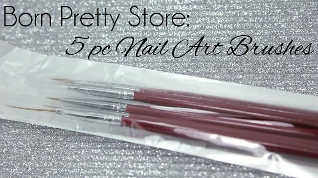 Magically Polished Nail Art Blog Born Pretty Store 5pc Nail Art
