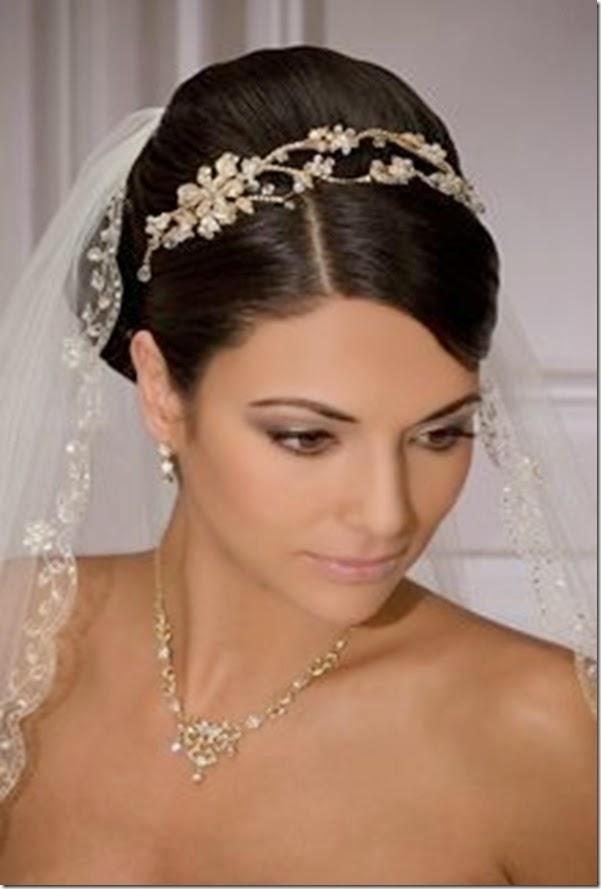 peinados de novia con velo parte 2 - Peinados De Novia Con Velo
