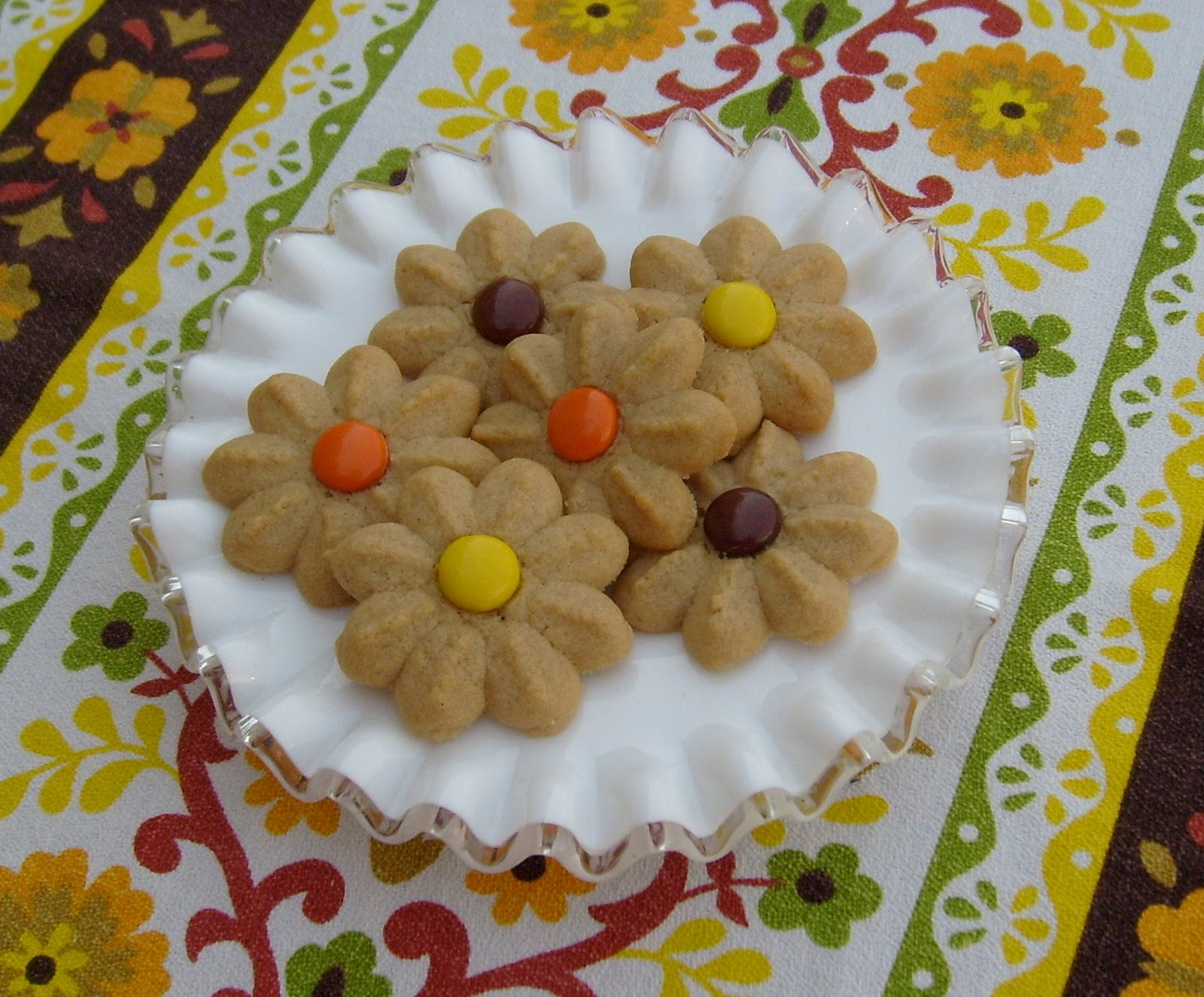 Peanut butter pressed cookie recipes