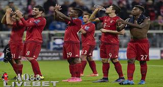 Agen Piala Eropa - Bayern Muenchen tampil perkasa saat menjamu Dinamo Zagreb pada laga kedua Grup F Liga Champions di Allianz Arena, Rabu (30/9/2015) dini hari WIB
