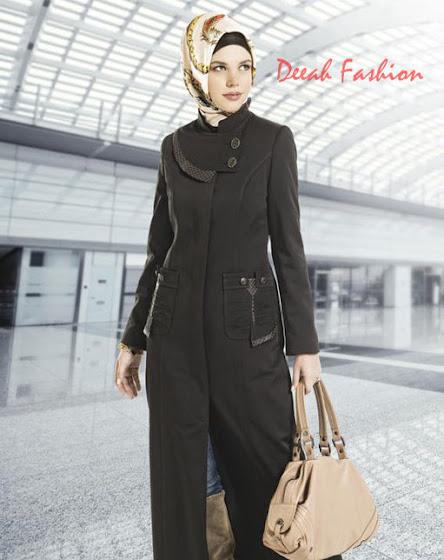 Model Busana Muslim Modern Terbaru Wanita Karir