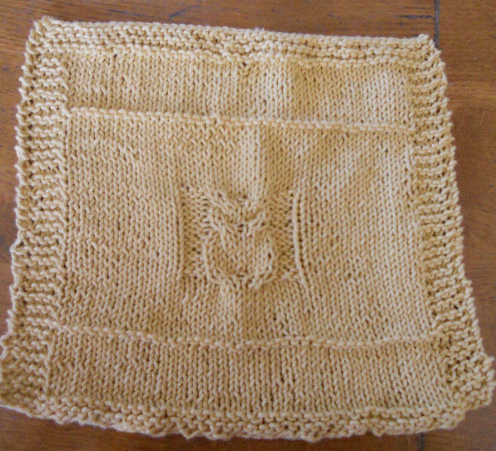 Owl Dishcloth Knitting Patterns Free : Smiles are contagious nantucket knitter owl washcloth