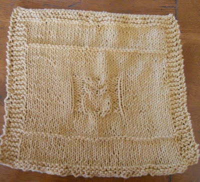 Knit Pattern For Owl Dishcloth : Smiles are Contagious / Nantucket Knitter: Owl Washcloth ...
