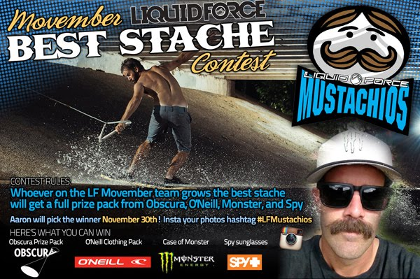 Sport a stache or give some cash!