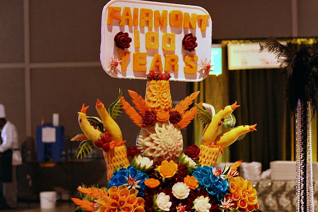 edible arrangements from Fairmont Hotel Macdonald