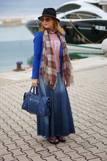 Outfits, Replay fedora hat, plaid scarf, Fashion and Cookies, fashion blogger