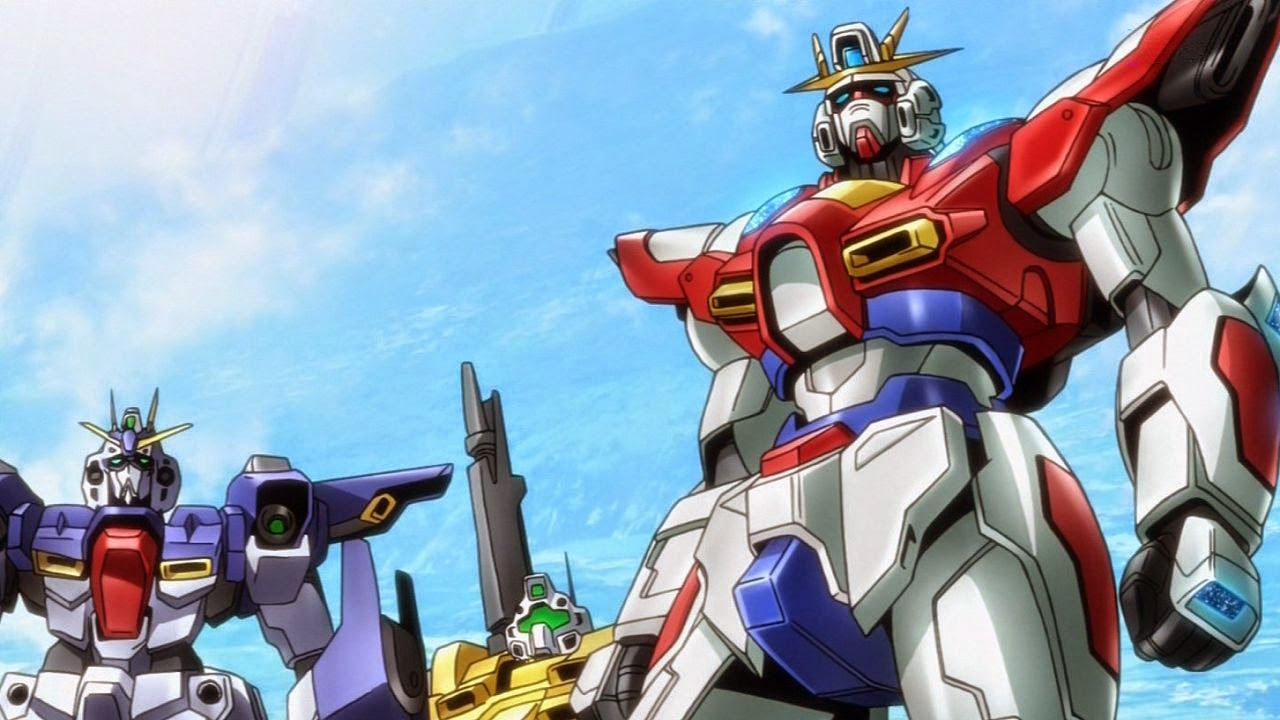 Gundam guy gundam build fighters try episode 3 39 her name for Domon kasshu build fighters try