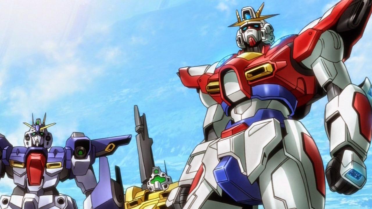 Gundam guy gundam build fighters try episode 3 39 her name for Domon gundam build fighters try