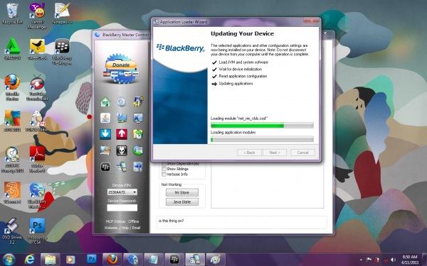 ... OS sampai selesai dan Blackberry Gemini 8520 kamu lahir kembali