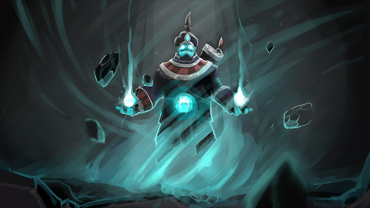 Storm Spirit Set Art Dota 2