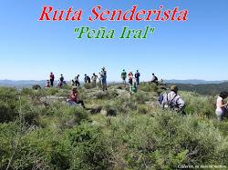 "RUTA SENDERISTA ""PEÑA IRAL"""
