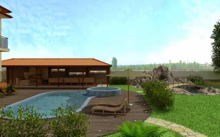 Градини и басейни 3D