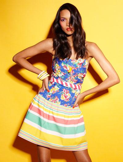 Blanco colección verano 2011 Color Splash mujer