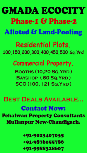 GMADA Ecocity Mullanpur Buy/Sell