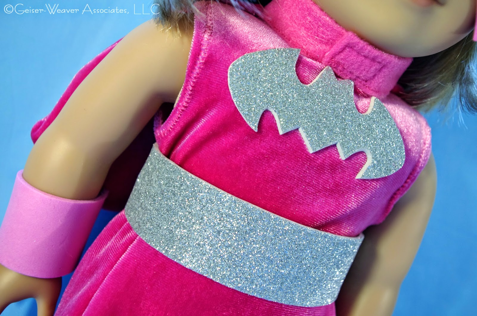 Pink Batgirl doll costume by Geiser-Weaver Associates, LLC