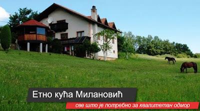 etno kuća Milanović