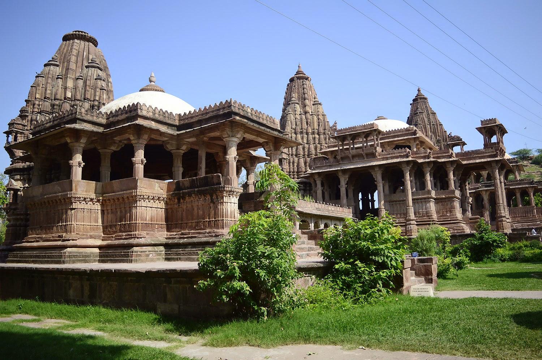 temples of mandor garden