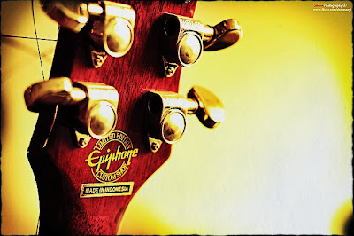 Epiphone Acoustic Guitar Headstock