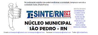 NÚCLEO SINDICAL DE SÃO PEDRO - RN