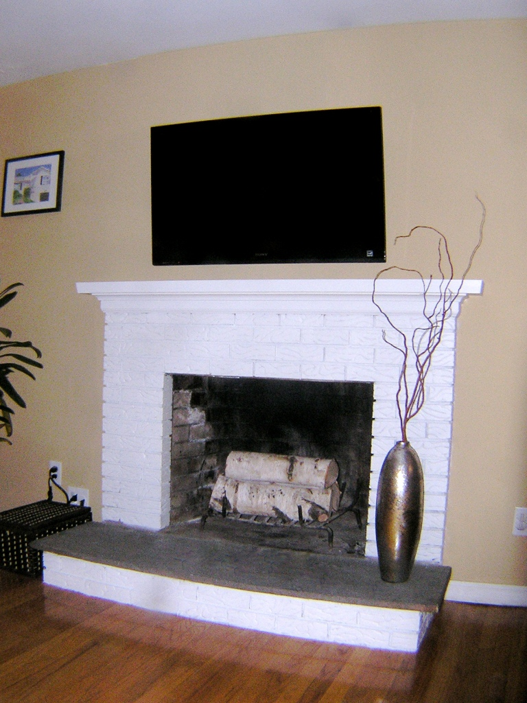 The Room Stylist Before After Fireplace Makeover