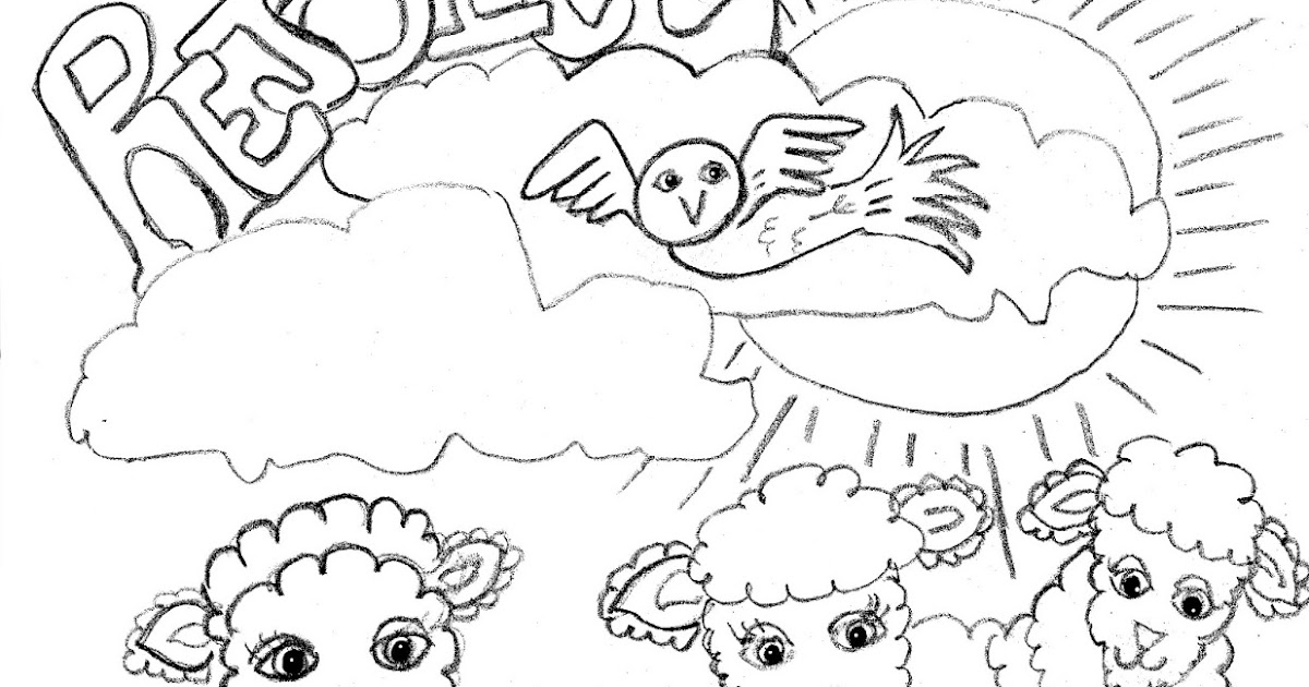 rejoice coloring pages - photo#3