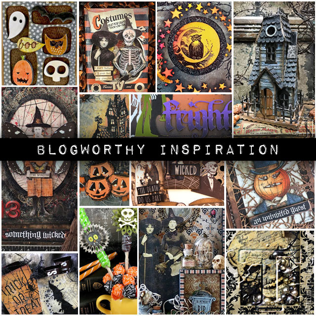 Selected by Tim Holtz ~ Halloween Blogworthy Inspiration 2018