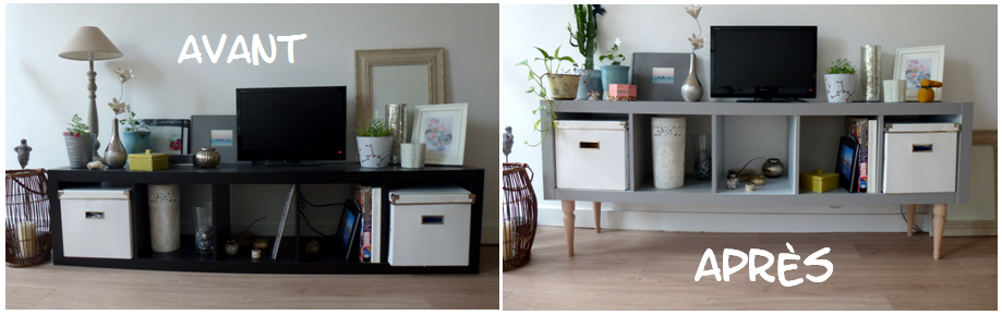 comment repeindre meuble ikea table de lit a roulettes