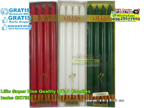 Lilin Super Fine Quality Lilian Candles