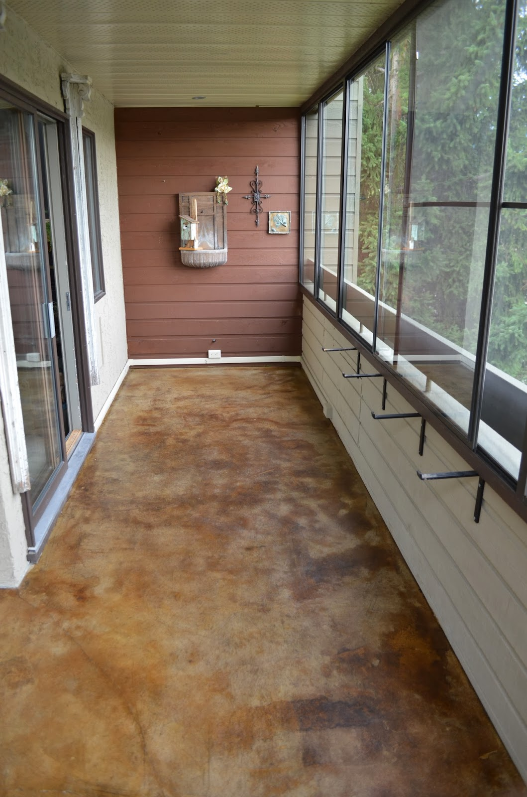 Antique+concrete+stain+patio+slab+balcony+ +Acid+water+stain+concrete