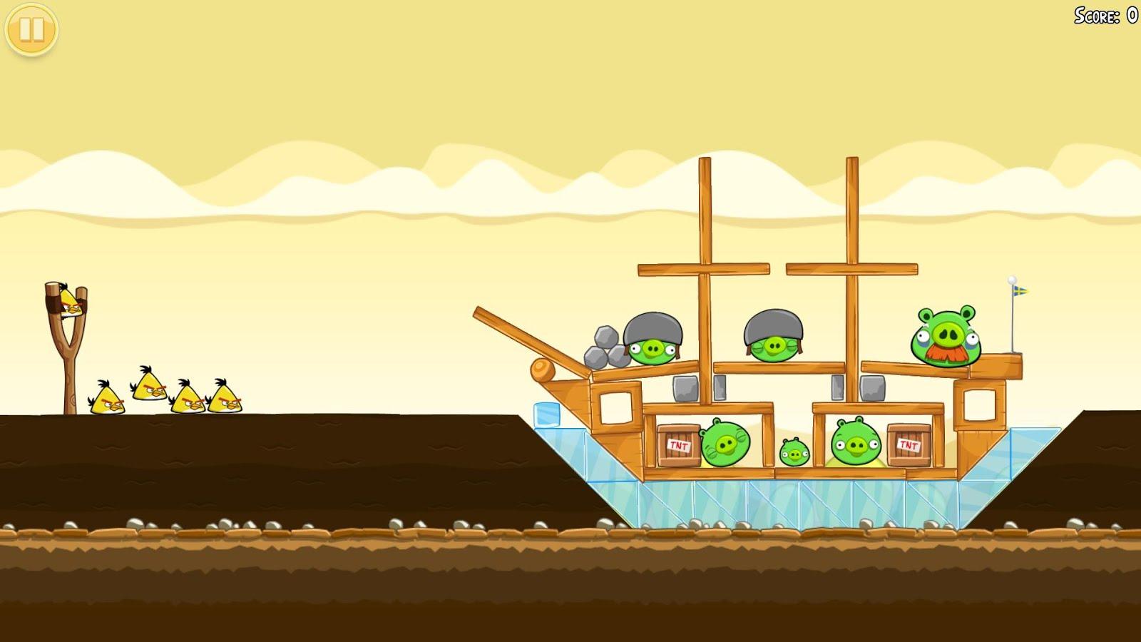 Скачать игру Angry Birds