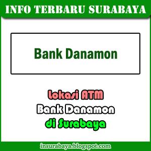 lokasi ATM bank Danamon di Surabaya