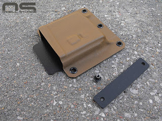 custom kydex battle belt magazine carrier