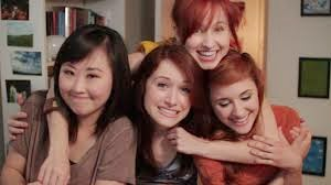 The Lizzie Bennet Diaries Charlotte, Lizzie, Lydia, Jane