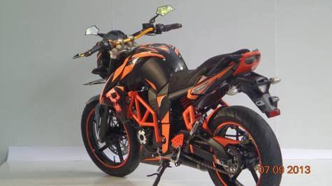 Modifikasi Yamaha Byson Ala KTM Duke