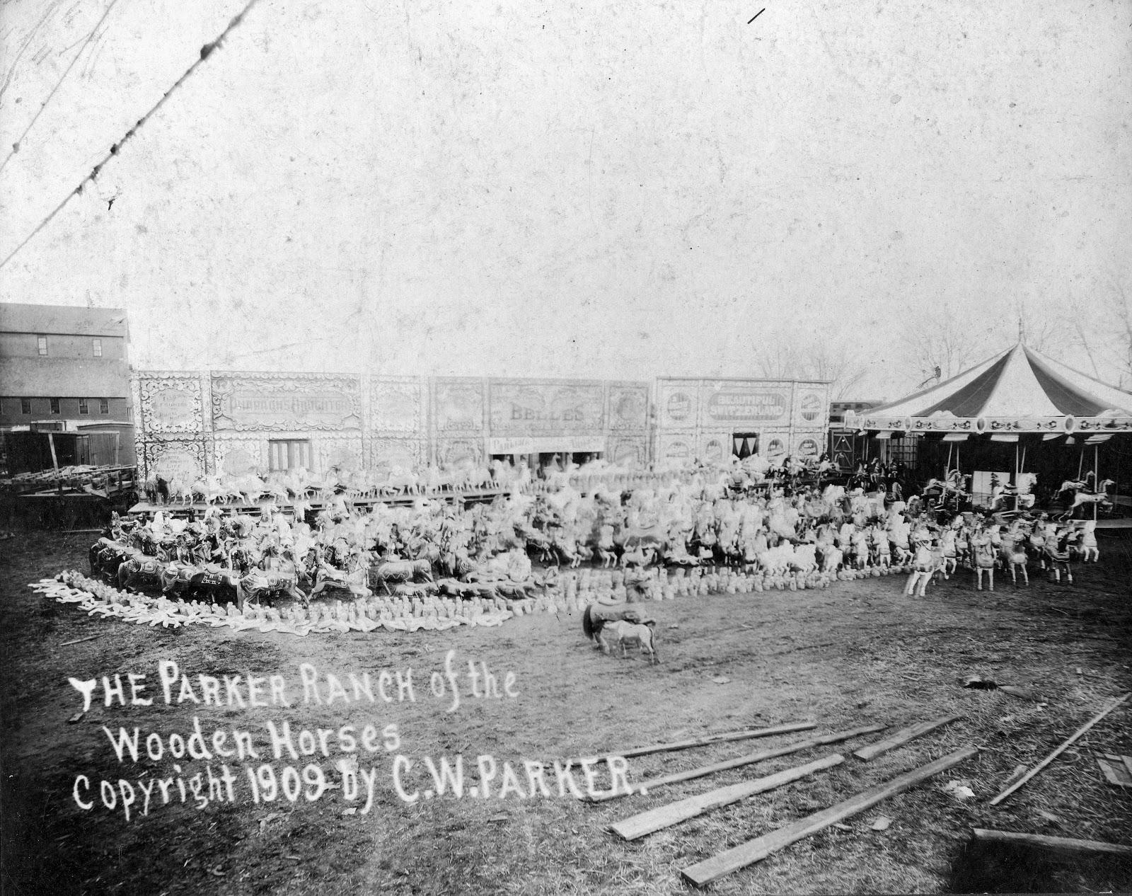 Kansas dickinson county abilene - Several Parker Horses On His Property In Abilene