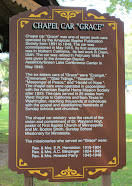 """Featured Marker / Site:<br>Chapel Car """"Grace""""<br>(Green Lake, Green Lake County)"""
