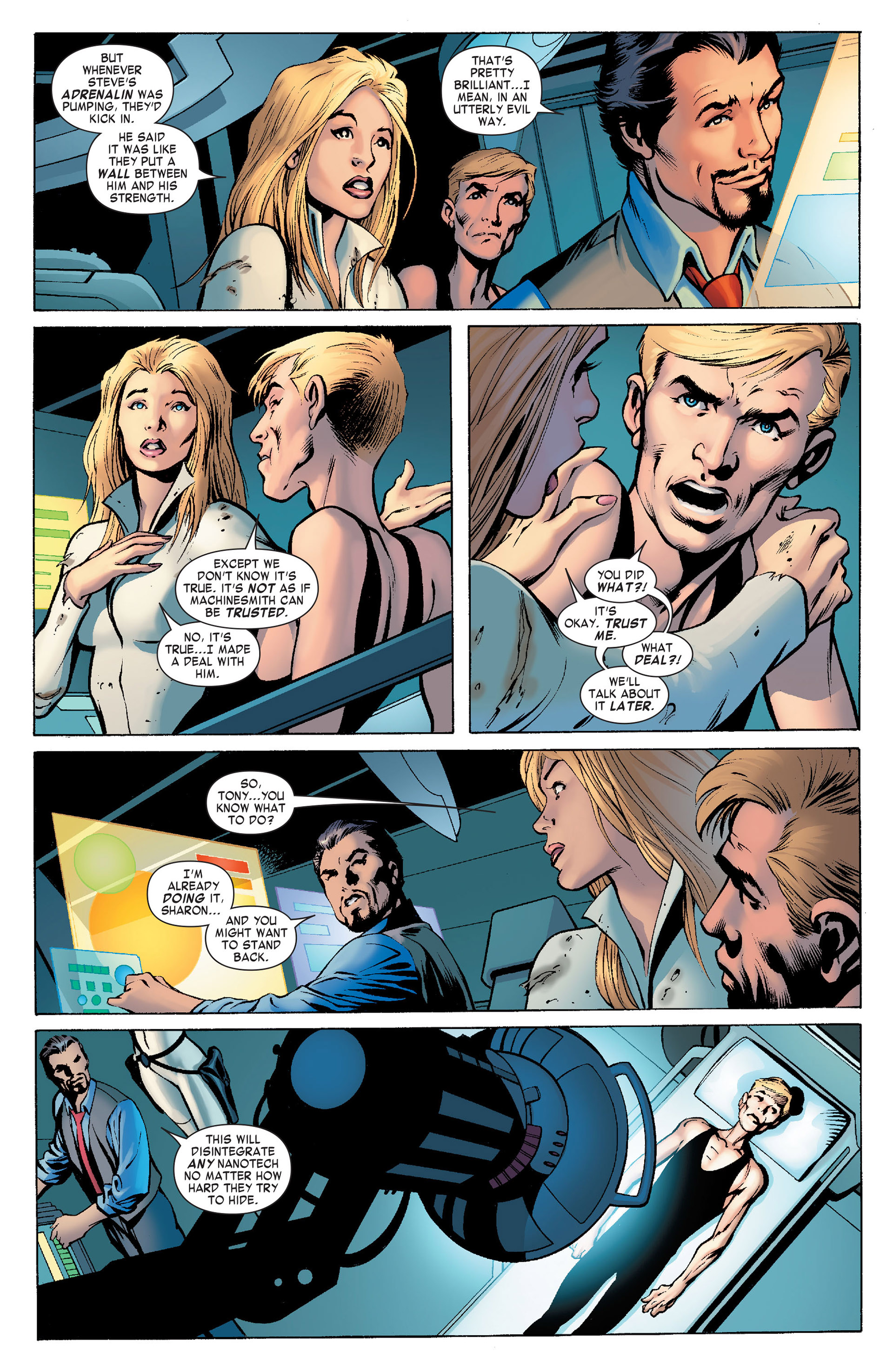 Captain America (2011) Issue #10 #10 - English 4