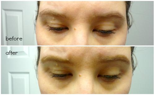 how to use eye brow kit