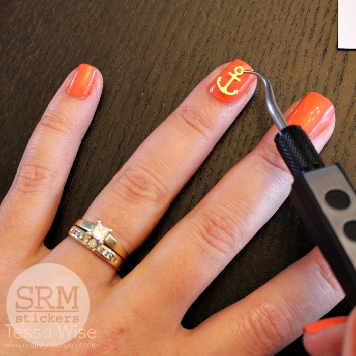 SRM Stickers: Create Your Own Vinyl Nail Stickers with Tessa
