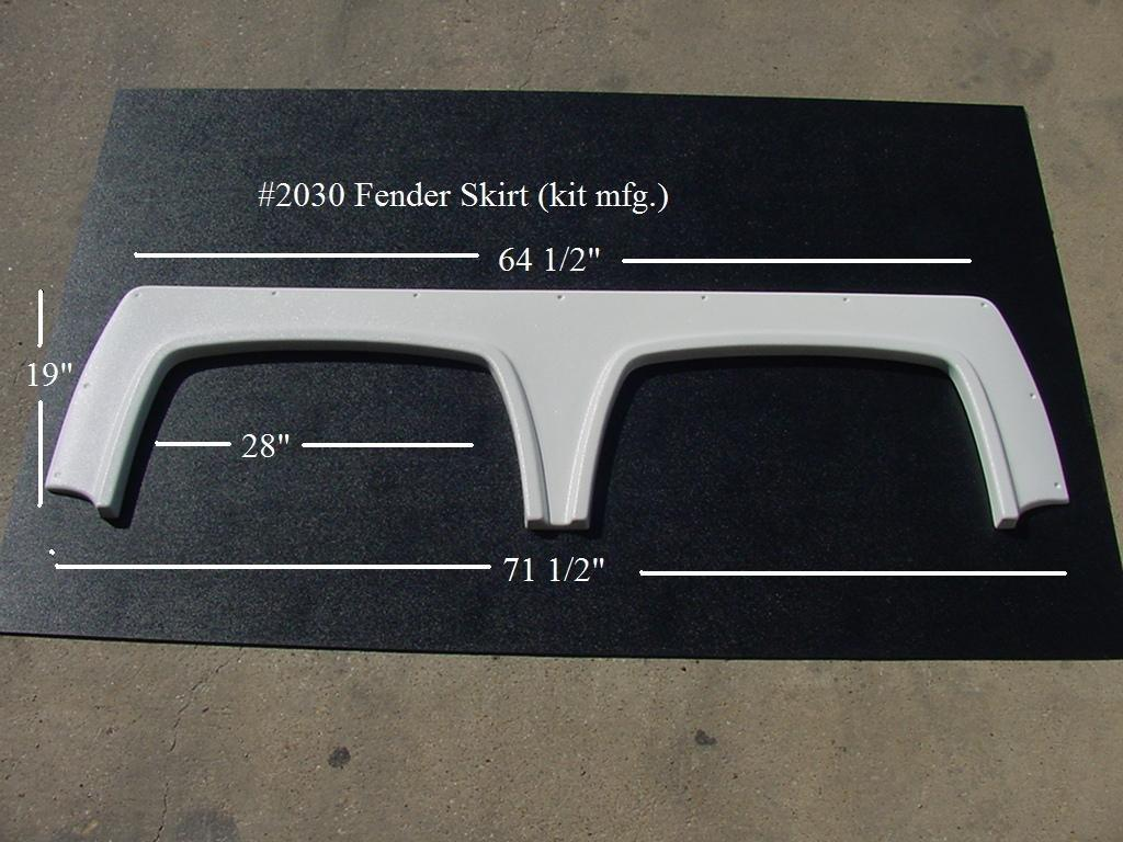 Rv Fender Skirts For Travel Trailers 5th Wheels Or