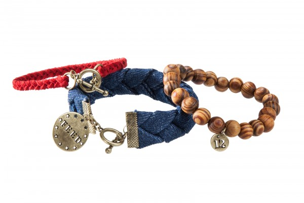 FEED USA + Target stackable bracelet